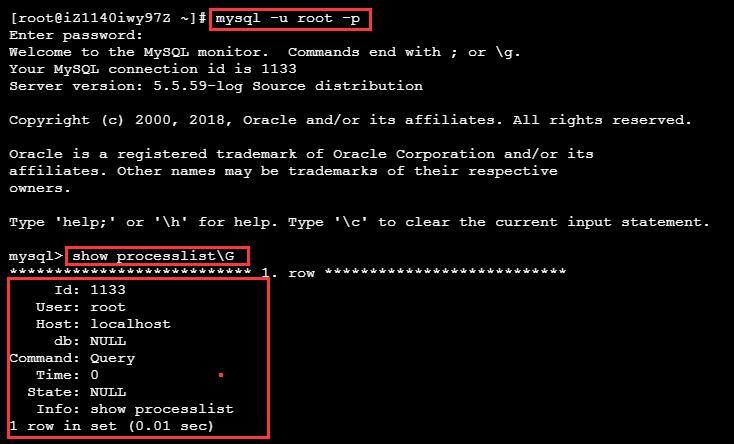 mysql:show processlist命令详解-许大也
